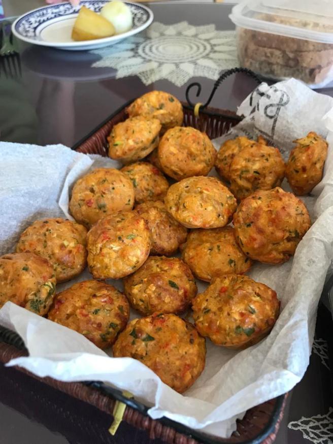 Magdalenes de carabassó cuites
