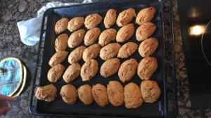Panets de moniato cuits