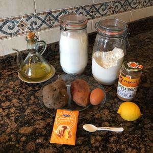 Panets moniato, ingredients