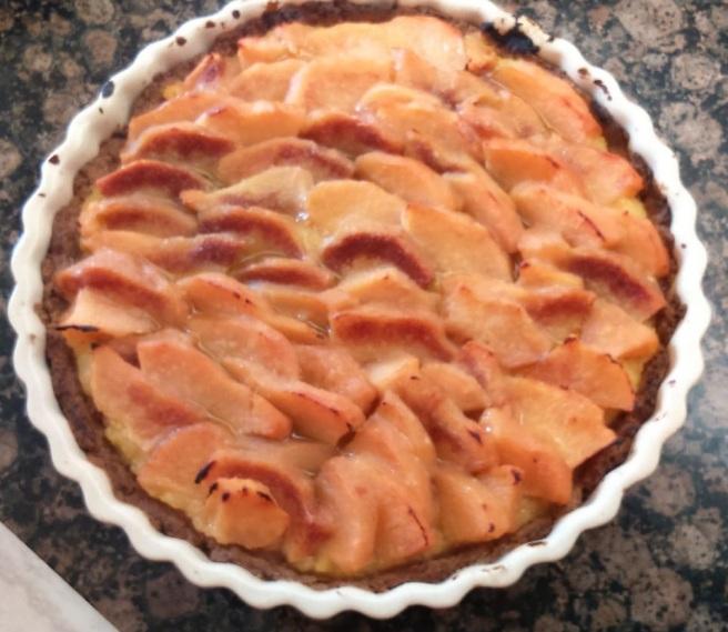 El pastís de codonys i pomes