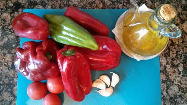 Coc de pribentó i tomaca, ingredients