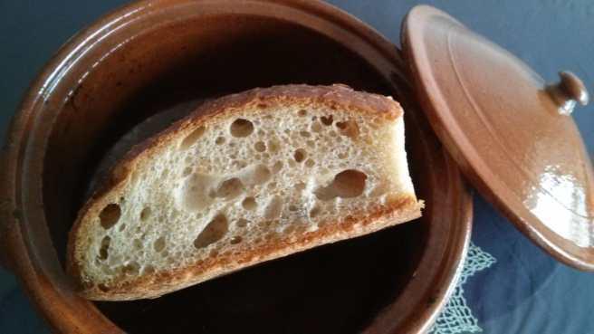Desem el pa dins la cassola