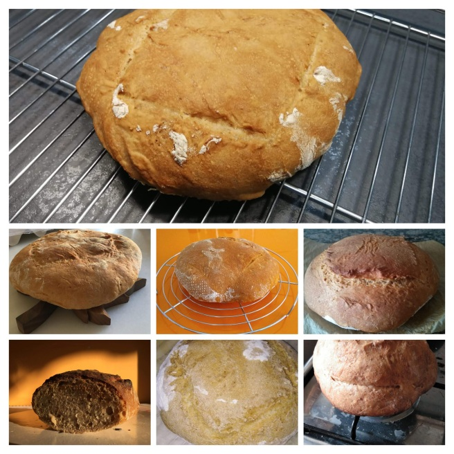 Els pans, collage