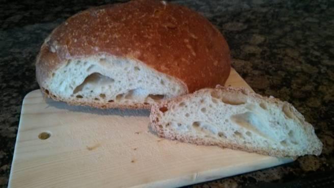 L'ull del pa cuit a la cassola