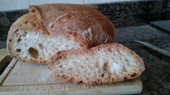 L'ull del pa de pagès sense amassar